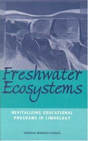 Cover of: Freshwater Ecosystems | National Research Council.