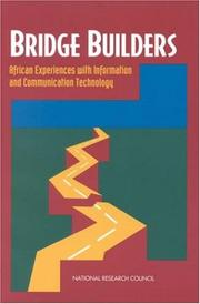 Cover of: Bridge Builders | National Research Council.