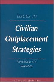 Cover of: Issues in Civilian Outplacement Strategies | National Research Council.