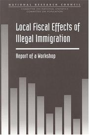 Cover of: Local Fiscal Effects of Illegal Immigration by National Research Council.