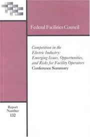 Cover of: Competition in the Electric Industry by National Research Council.