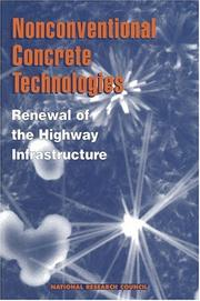 Cover of: Nonconventional Concrete Technologies by National Research Council.