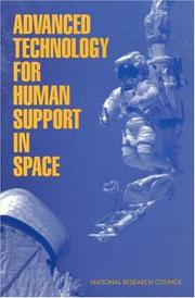 Cover of: Advanced Technology for Human Support in Space | National Research Council.