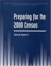 Cover of: Preparing For the 2000 Census | National Research Council.