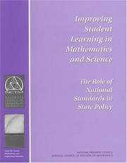 Cover of: Improving Student Learning in Mathematics and Science by National Research Council.