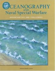 Cover of: Oceanography and Naval Special Warfare by National Research Council.