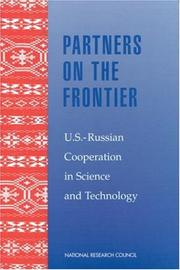 Cover of: Partners on the Frontier | National Research Council.
