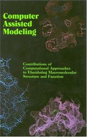 Cover of: Computer Assisted Modeling | National Research Council.