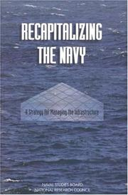 Cover of: Recapitalizing the Navy by National Research Council.