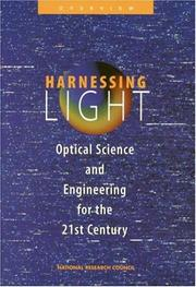 Cover of: Harnessing Light by National Research Council.