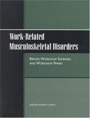 Cover of: Work-Related Musculoskeletal Disorders by National Research Council.