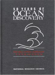 Cover of: 50 Years of Ocean Discovery by National Research Council.