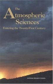 Cover of: The Atmospheric Sciences | National Research Council.