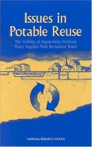 Cover of: Issues in Potable Reuse by National Research Council.