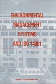 Cover of: Environmental Management Systems and ISO 14001 by National Research Council.