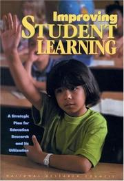 Cover of: Improving Student Learning | National Research Council.