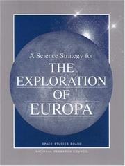 Cover of: A Science Strategy for the Exploration of Europa (Compass Series) by National Research Council.