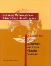 Cover of: Designing Mathematics or Science Curriculum Programs | National Research Council.
