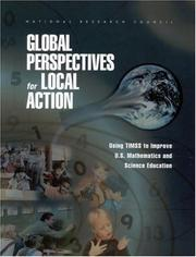 Cover of: Global Perspectives for Local Action | National Research Council.