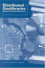Cover of: Distributed Geolibraries | National Research Council.