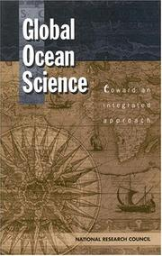 Cover of: Global Ocean Science | National Research Council.