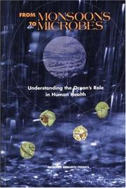 Cover of: From Monsoons to Microbes | National Research Council.