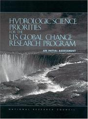 Cover of: Hydrologic Science Priorities for the U.S. Global Change Research Program by National Research Council.
