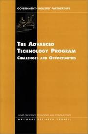 Cover of: Advanced Technology Program by National Research Council.