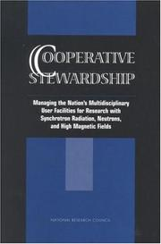 Cover of: Cooperative Stewardship by National Research Council.