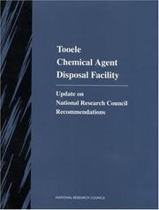 Cover of: Tooele Chemical Agent Disposal Facility by National Research Council.