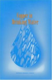 Cover of: Copper in Drinking Water | National Research Council.