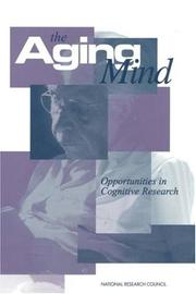 Cover of: The Aging Mind by National Research Council.