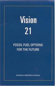Cover of: Vision 21 | National Research Council.