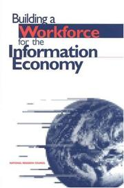 Cover of: Building Worforce for Information Economy by National Research Council.