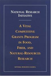 Cover of: National Research Initiative by National Research Council.