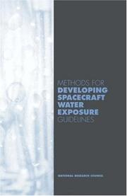 Cover of: Methods for Developing Spacecraft Water Expsoure Guidelines | National Research Council.
