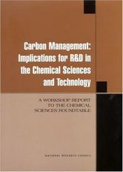 Cover of: Carbon Management | National Research Council.