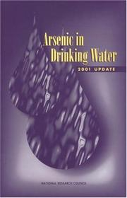 Cover of: Arsenic in Drinking Water by National Research Council.