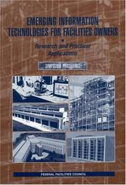 Cover of: Emerging Information Technologies for Facilities Owners by National Research Council.