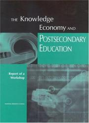 Cover of: The Knowledge Economy and Postsecondary Education | National Research Council.