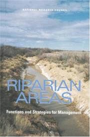 Cover of: Riparian Areas by National Research Council.