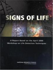 Cover of: Signs of Life by National Research Council.