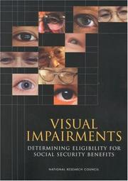 Cover of: Visual Impairments | National Research Council.