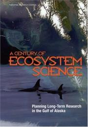Cover of: A Century of Ecosystem Science | National Research Council.