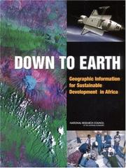 Cover of: Down to Earth | National Research Council.