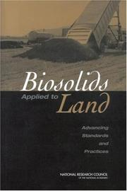 Cover of: Biosolids Applied to Land by National Research Council.