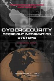Cover of: Cybersecurity of Freight Information Systems | National Research Council.