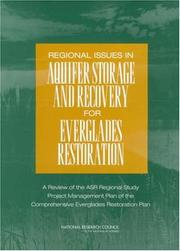 Cover of: Regional Issues in Aquifer Storage and Recovery for Everglades Restoration by National Research Council.