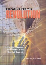 Cover of: Preparing for the Revolution by National Research Council.