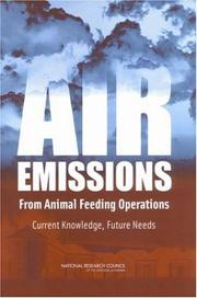 Cover of: Air Emissions from Animal Feeding Operations | National Research Council.